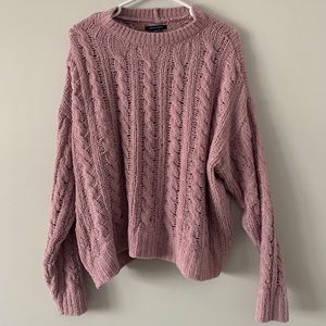 AE Cable Knit Sweater